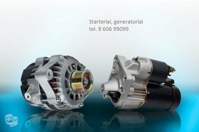 Generatorius!Starteris Audi Quattro