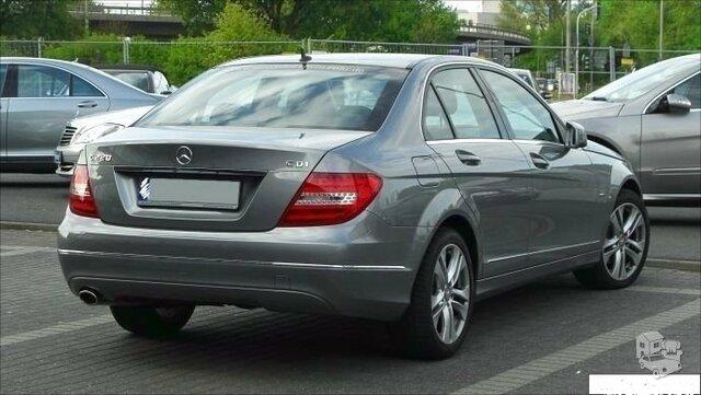 Mercedes Benz C-CLASS  Bagažinės spyna su raktu