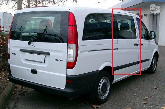 Mercedes Benz Vito- 639 Durų spyna