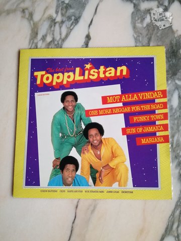 VARIOUS - THE BEST FROM TOPPLISTAN