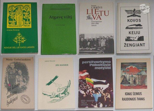 Istorinės knygos (yra tai kas nuotraukose)