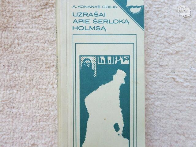 Užrašai apie Šerlochą Holmsą. A.Konanas Doilis.