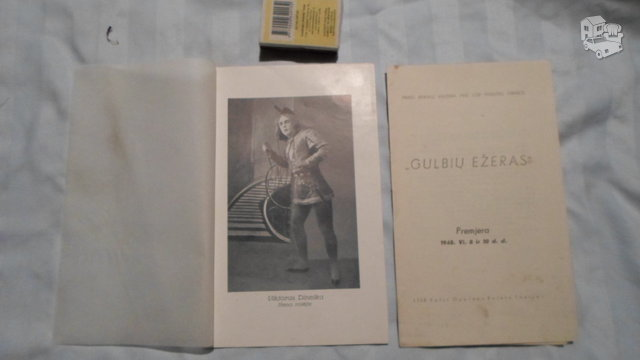 1948 spektaklio bukletai