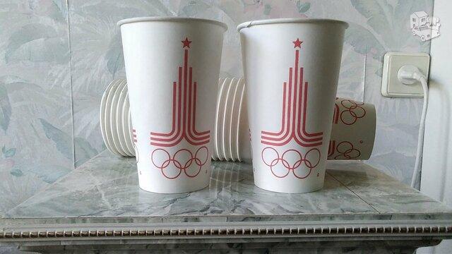 Vienkartinio naudojimo puodeliai.
