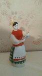 Tarybinė porcelianinė skulpturėlė.