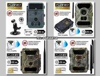Medžioklinės kameros nuo 120€