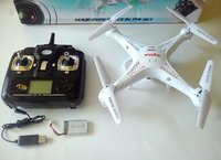 Naujas originalus dronas SYMA X5C-1 SU HD VIDEO