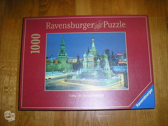 Ravensburger dėlionė 1000 detalių