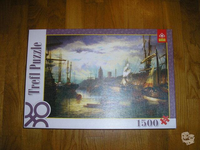 Trefl puzzle dėlionė 1500 detalių