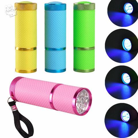 Mini 9 LED nagų lempa, 6W