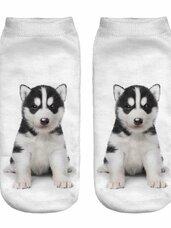 3D kojinės, 1 pora