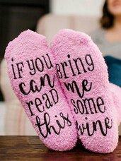Šmaikščios kojinės paruoštos dovanai If You can read this..