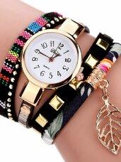 Stilingas spalvingas laikrodis - apyrankė