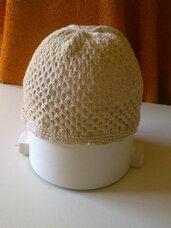 Lininė nerta kepuraitė, Lininė lietuviška skara.
