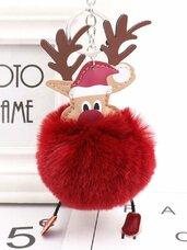Raktų pakabukas Rudolfas, įvairių spalvų