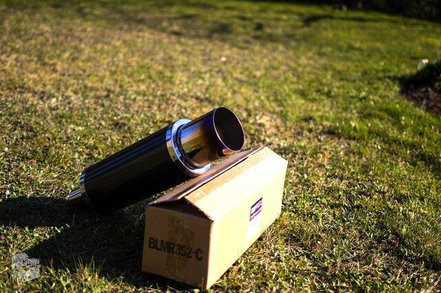 Mufflex n1 bakelis – ardomas carbon (anglies pluošto)