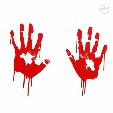 """Bloody hands - Lipdukai """"Kruvinos rankos"""""""