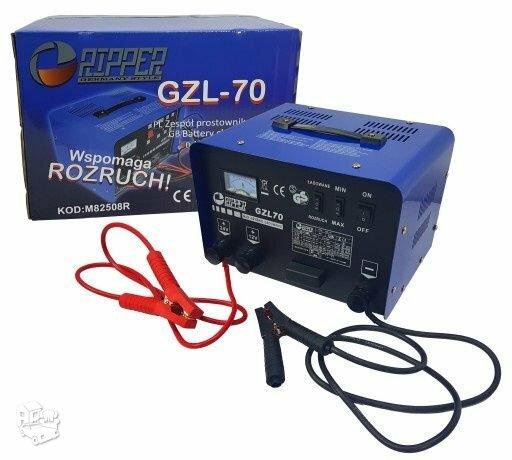 Akumuliatorių Pakrovėjas- Paleidėjas START GZL70