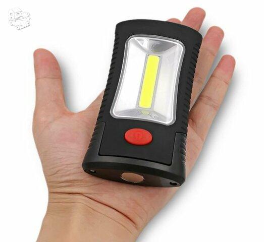 LED cob darbo lempa 3xAAA