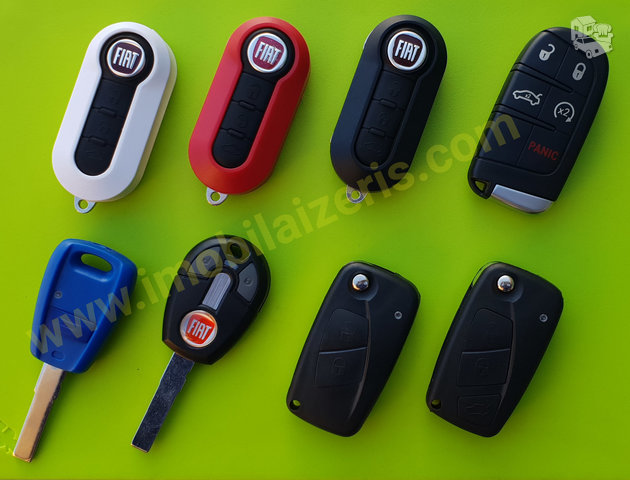 Fiat raktu gamyba fiat raktai