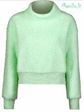Mėtiniai šilti pūkiniai megztiniai