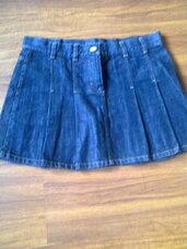Sijonas mėlynos spalvos