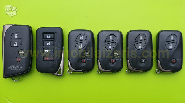 Lexus raktas lexus raktai gamyba