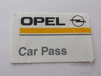 "Automobilio pasas ""Car Pass"""