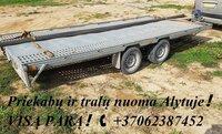 TRALO NUOMA Alytuje ! TRALO MATMENYS: ILGIS 4.50m PLOTIS 2.10m.