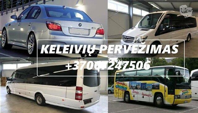 Privatus keleivių pervežimas Keleivių pervežimas / transferio