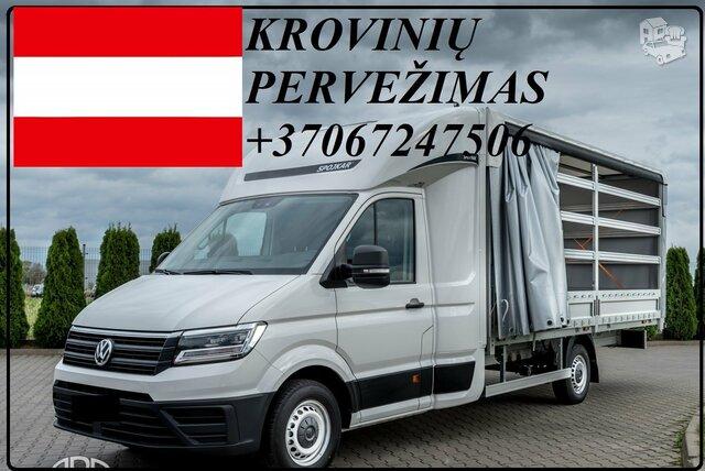 ŠIANDIEN važiuojam Lietuva - Austrija ! Krovinių Pervežimas !