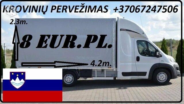 ŠIANDIEN važiuojam Lietuva – Slovėnija ! Krovinių Pervežimas !