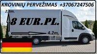 Galim paimti krovinius / siuntas iš Vokietijos į LIETUVA (