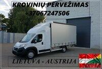 Transporto Paslaugos Meno kūriniams gabenti Lietuva – Austrija –