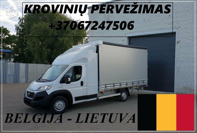 Transporto Paslaugos Meno kūriniams gabenti Lietuva – Belgija –