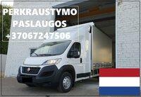 Transporto Paslaugos Meno kūriniams gabenti Lietuva – Olandija –