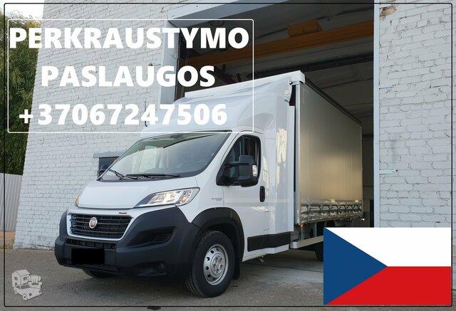 Transporto Paslaugos Meno kūriniams gabenti Lietuva – Cekija –