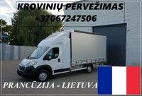 Eksponatų ir parodų įrangos pervežimas Lietuva – Prancūzija