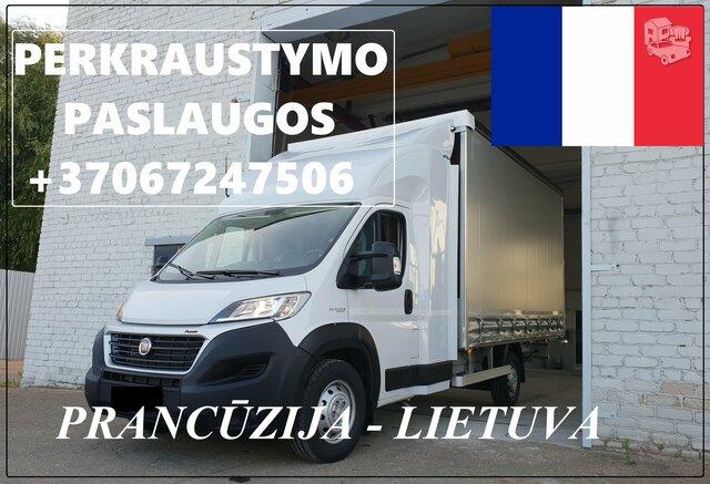 Transporto Paslaugos Meno kūriniams gabenti Lietuva – Prancūzija