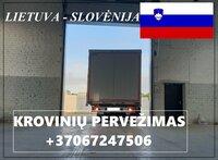 Transporto Paslaugos Meno kūriniams gabenti Lietuva – Slovėnija