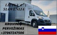 Eksponatų ir parodų įrangos pervežimas Lietuva – Slovėnija –