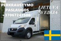 Transporto Paslaugos Meno kūriniams gabenti Lietuva – Švedija –
