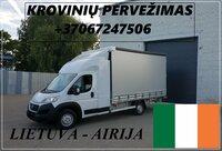 Transporto Paslaugos Meno kūriniams gabenti Lietuva – AIRIJA –