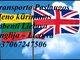 Transporto Paslaugos Meno kūriniams gabenti Lietuva – Anglija –