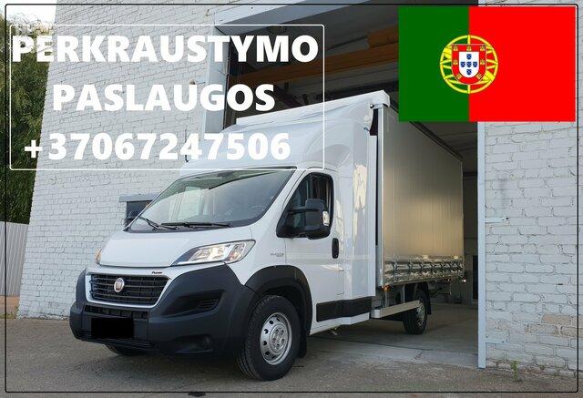Eksponatų ir parodų įrangos pervežimas Lietuva – Portugalija –