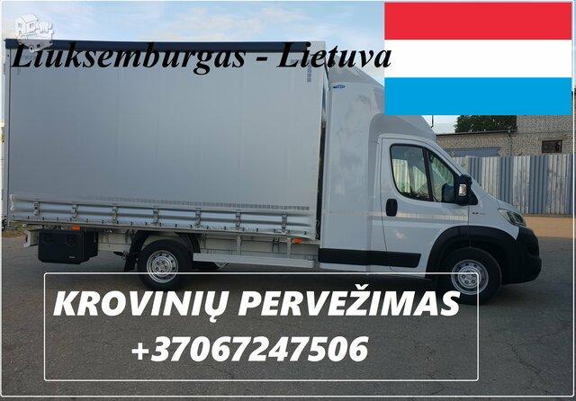 Transporto Paslaugos Meno kūriniams gabenti Lietuva –