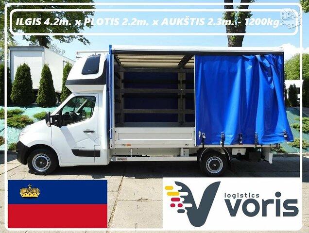 Eksponatų ir parodų įrangos pervežimas Lietuva – Lichtenšteinas