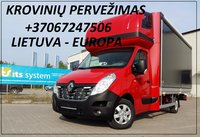 Pervežame krovinius Alytus-Kelme-Alytus, bei visoje Lietuvoje.