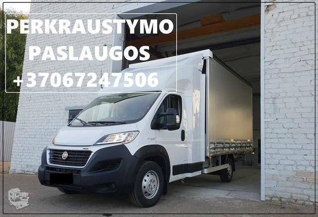 Pervežame krovinius Alytus-Kretinga-Alytus, bei visoje Lietuvoje