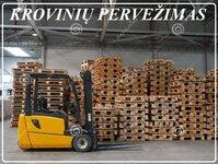Pervežame krovinius Alytus-Pasvalys-Alytus, bei visoje Lietuvoje